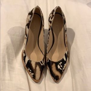 Loeffler Randall fur block heels